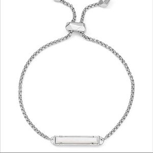 KENDRA SCOTT Stan bracelet silver white stackable